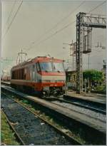 Die FS 402 042 in Milano im September 1996.