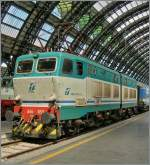 Die FS 656 052 in Milano Centrale.