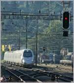 ETR 610/84497/gezoom-im-gegenlicht-der-fs-etr Gezoom im Gegenlicht: der FS ETR 610 als EC 41 in Milano. am 7. Juli 2010