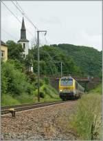 Serie 3000/289945/cfl-3012-mit-einem-ir-von CFL 3012 mit einem IR von Luxembourg nach Liers bei Michelau. 15. Juni 2013