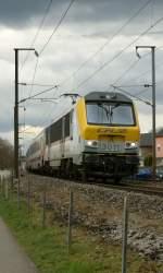 Serie 3000/72589/cfl-3011-mit-einem-ir-liers CFL 3011 mit einem IR Liers - Luxembourg bei Mersch.  29. März 2009