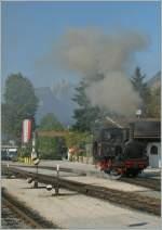 achensee-dampfbahn/162118/die-achenseebahn-lok-n-damft-und Die Achenseebahn Lok N§ damft und faucht ganz fotogen in Jenbach. 16.09.2011