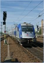 eu445370-183-husarztaurus/97499/pkp-eu-44-5370-008-erreicht PKP EU 44 5370 008 erreicht mit dem Berlin Warszawa Express Berlin Ostbahnhof.  12. Sept. 2010