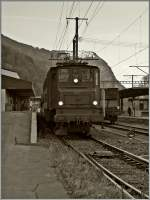 Die Ae 4/7 10997 in Raron.