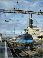 re-460-re-4-4-vi/117104/die-re-460-002-9-wirbt-fuer Die Re 460 002-9 wirbt für den Klimaschutz.  Lausanne, den 7. Jan. 2011