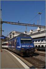 Die SBB Re 460 050-8  RailAway  in Lausanne.