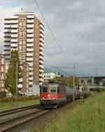 re-620-re-6-6/101571/re-66-116484-bei-grenchen-am Re 6/6 116484 bei Grenchen am 19. Oktober 2010