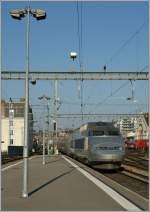 Lyria/129068/der-tgv-lyria-nach-paris-wird Der TGV LYRIA nach Paris wird in Lausanne bereitgestellt.  11.03.2011