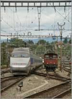 Lyria/147873/ein-klassiker-tgv-und-ee-33lausanne Ein Klassiker: TGV und Ee 3/3.... Lausanne, den 13. Juni 2011