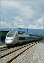 Lyria/292212/tgv-lyria-in-prilly-malley-24-mai TGV Lyria in Prilly-Malley. 