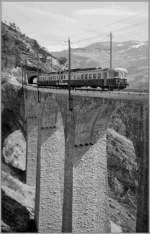 abde-4-8-bls/151473/ein-bls-abde-48-mit-bt Ein BLS ABDe 4/8 mit Bt auf dem Luegelkin-Viadukt bei Hohtenn auf der Fahrt von Birg nach Goppenstein.