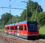 ASm Aare Seeland Mobil/116758/be-48-111-am-190708-in Be 4/8 111 am 19.07.08 in St. Urban