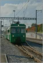BAM/165698/bam-regionalzug-erreicht-morges-21102011 BAM Regionalzug erreicht Morges.  21.10.2011