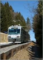 CEV/153882/der-train-des-etoiles-zwischen-lally Der 'Train des Etoiles' zwischen Lally und Les Pleiades. 31.01.2011
