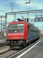 Cisaplino/104541/sbb-re-484-018-im-dienste SBB Re 484 018 im Dienste von Cisalpino.  Genève, den 31. März 2007
