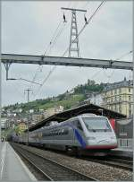 Cisaplino/112878/cis-etr-470-in-montreux8-juni CIS ETR 470 in Montreux. 8. Juni 2008