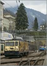 mob-goldenpass/185227/die-goldene-schokoladen-lok-gde-44 Die goldene 'Schokoladen' Lok GDe 4/4 in Montreux. 26. Feb. 2012