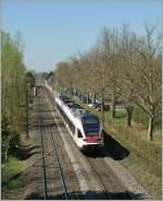 sbb-seehas-konstanz-engen/133331/zwei-seehas-flirt-nach-engen-bei Zwei Seehas Flirt nach Engen bei Allensbach.  7. April 2011