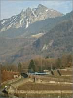 tpc-al-asd-aomc-und-bvb/119683/ein-asd-regionalzug-auf-der-fahrt Ein ASD Regionalzug auf der Fahrt von Les Diablerets nach Aigle kurz vor seinem Ziel. 04.02.2011
