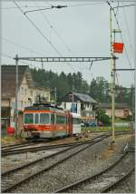 tpf-ex-gfm/141547/ein-tpf-regionalzug-verlaesst-palzieux-richtung Ein TPF Regionalzug verlässt Palézieux Richtung Montbovon.  27. Mai 2011